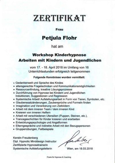 Petjula Flohr Zertifikat-4